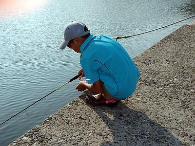 新潟で魚釣り