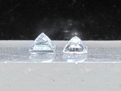 プリンセスカットダイヤの個体差