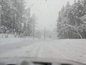 杉ノ原スキーへの道中