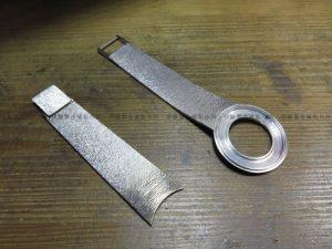 750ホワイトゴールド製時計修理