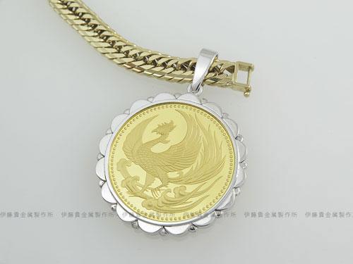 天皇陛下御即位記念10万円金貨コイン枠