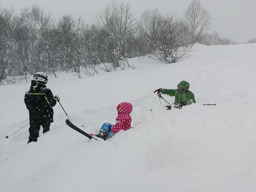年末の妙高杉ノ原スキー場