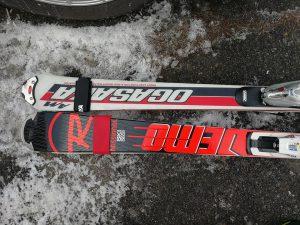 2009年と2016年のスキー板乗り比べ