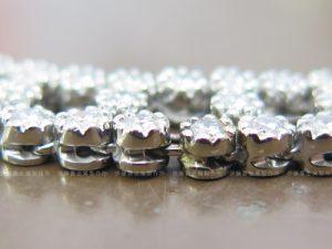 K18WGダイヤネックレスの修理 ロー付け