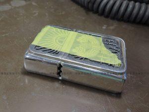 シルバー製ジッポーライターケースの修理