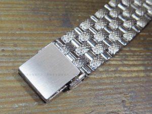 K18WG製時計ベルト金具修理