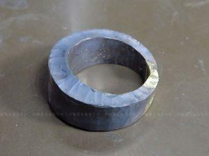 K18YGダイヤメンズリング加工