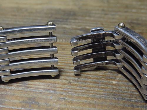 ティファニー ゲートリンクブレスレット爪修理