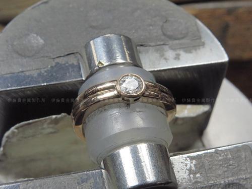 K20PG ダイヤ石留め