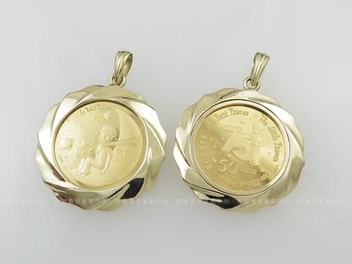 星の王子様50ユーロ金貨コイン枠